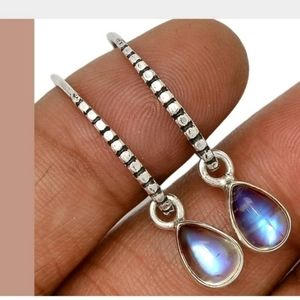 Gorgeous Genuine Moonstone handmade earrings